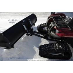 Sniego valytuvo komplektas keturračiams su užmaunamais vikšrais 1650mm