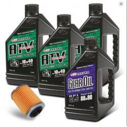 Oil change kit + diff. - LINHAI M565Li (1pc filter, 4l oil)