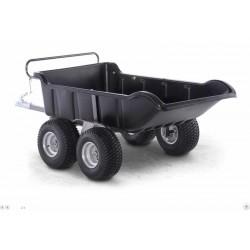 SHARK ATV TRAILER GARDEN 680 BLACK, 4 WHEEL