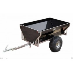 SHARK ATV TRAILER WOOD 550 BLACK 160 x 130 x 85 cm